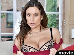 Busty mom Sensual Jane has a set of big hanging tits that you're going to want to squeeze and suck all day.