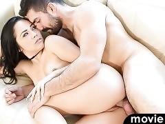 Horny Kristina Rose gets fucked by Brandon Ashton's cock.